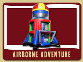 Airborne Adventure flying Inflatable Holly Hill jumping balloons Deltona