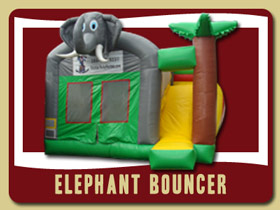 Elephant safari Combo Deltona bouncy house rentals Ponce Inlet