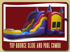 moonwalk combo bouncer Slide and Pool Combo Inflatable Sanford bouncer rental Ormond Beach