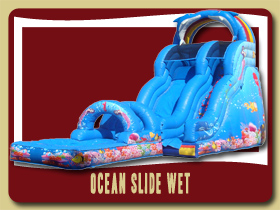 ocean waterslide pool Moonwalk Holly Hill spacewalk Flagler Beach