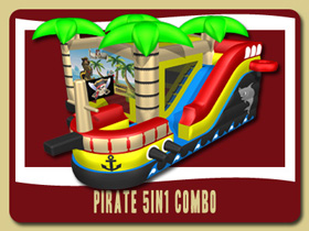 pirate moonwalk kids party rentals Orange City