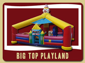 Big top Toddler Playland Orange City bouncy house rentals Ormond Beach