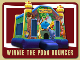 whinne the pooh Moonwalk Lake Helen Kids inflatable rentals Ormond moon bounce Rentals Palm Coast