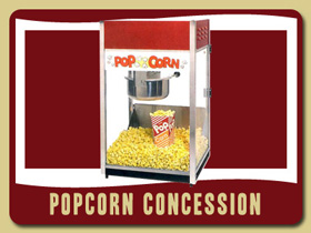 Movie Theather Popcorn Maker Fun Party Food Sanford kids party rentals Edgewater