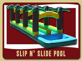 Double and Dlue Lane Slip n Slide Pool New Smyrna Beach birthday party rentals Port Orange
