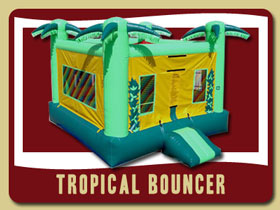 Party home rentals Palm Coast inflatable bounce house rentals Ormond Beach
