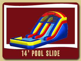 waterSlide and Pool Inflatable Crescent City giant inflatables Port Orange