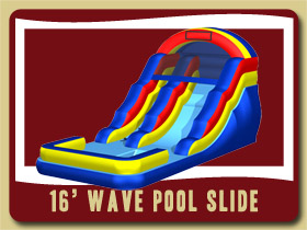 inflatable waterslide pool Moonwalk Orange City moonwalk rental Deltona