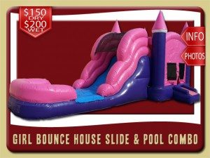 Girl Combo 26 water slide rent palm coast price pink purple