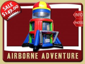 airborne inflatable rental palm coast sale