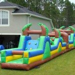 amazon obstacle course tropical rental lake helen green yellow blue
