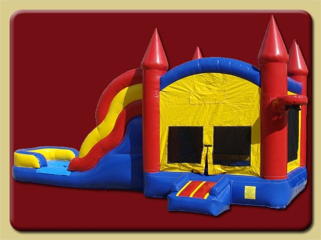 B Amp R Bounce House Slide Combo Bounce Party Rentals