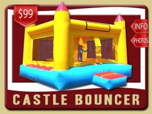 castle inflatable moonwalk party rental rental debary price yellow red blue