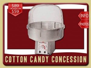 cotton candy concession party food rental rental daytona beach price