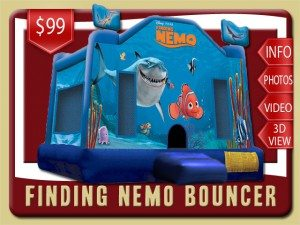 disney finding nemo bounce house rental palatka price flo bruce squirt blue