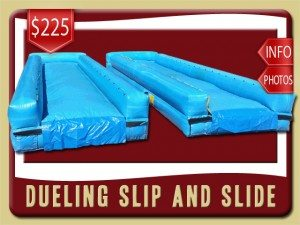 dueling slip slide water rental port orange price 1 blue