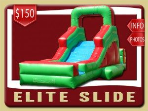 elite water slide inflatable rental ponce inlet price red green