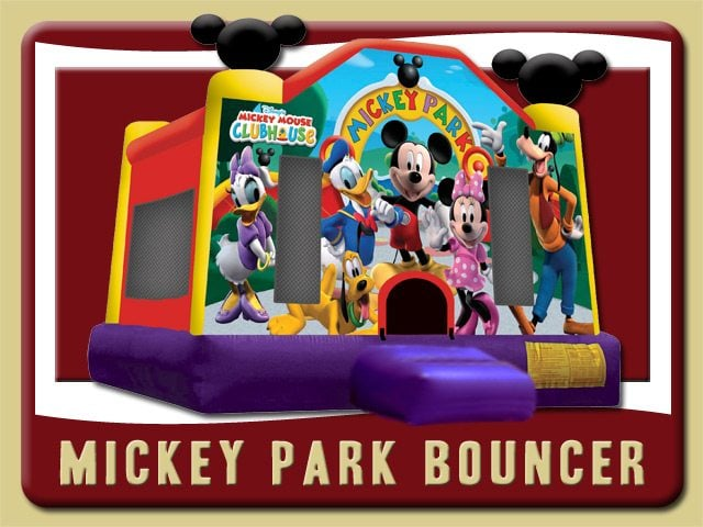 Mickey Mouse Bounce House Party Rental Ormond Beach