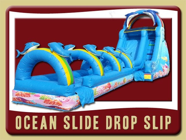 Ocean Slide Drop Slip Party Rental Flagler Beach