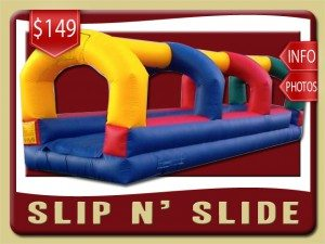 slip n slide water inflatable party rental debary price red yellow blue green