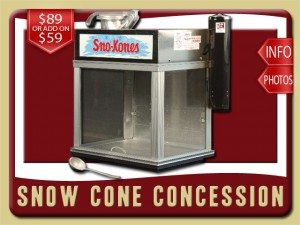 snow cone party food concession rental ponce inlet price blue raspberry cherry grape ice
