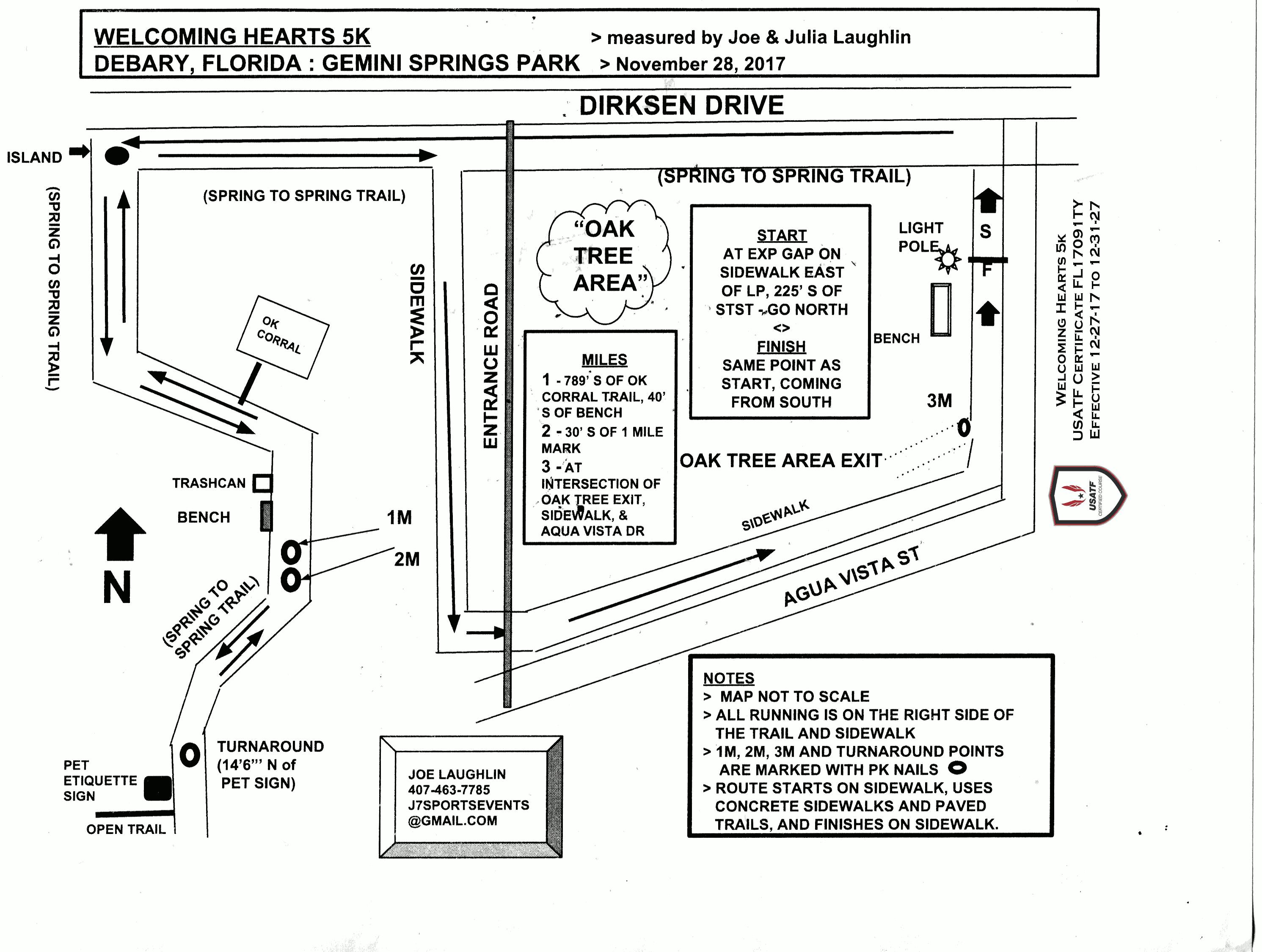 official race course